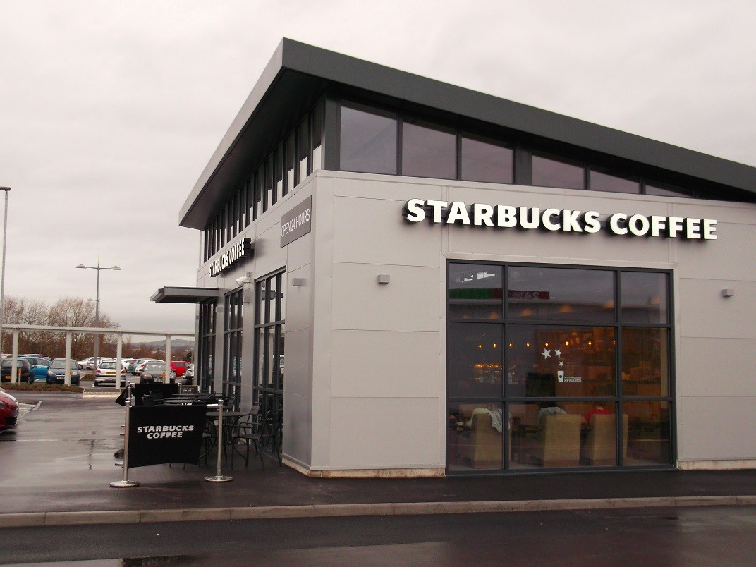 Starbucks Drive Thru Wolstanton