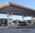 Shell Fakenham Petrol Canopy