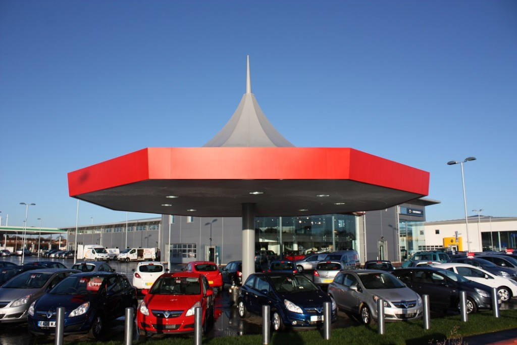 Car Sales Canopy