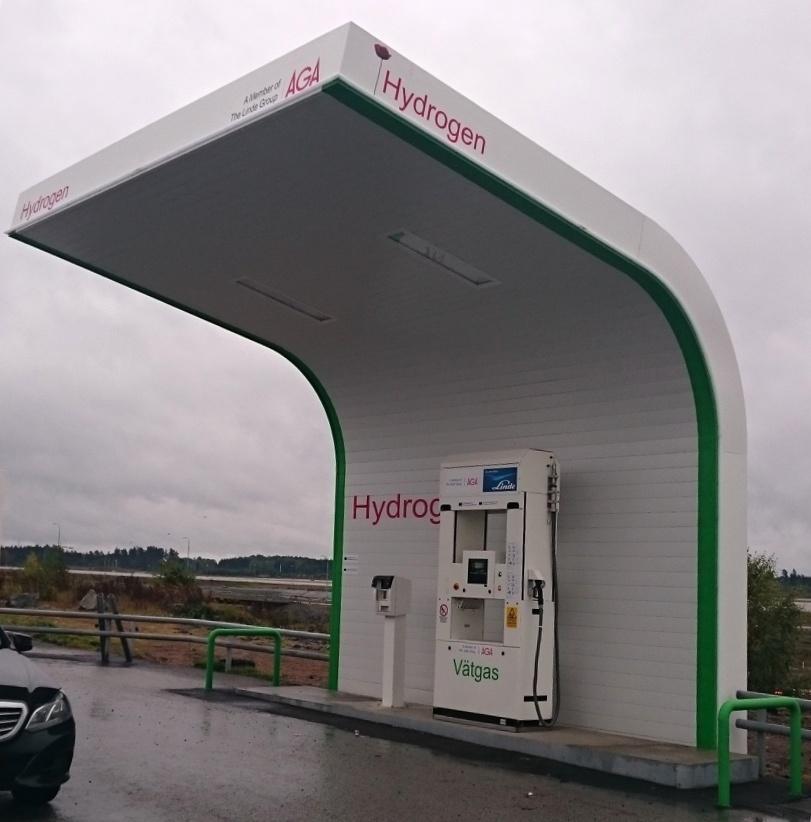 Hydrogen Refueling Canopy