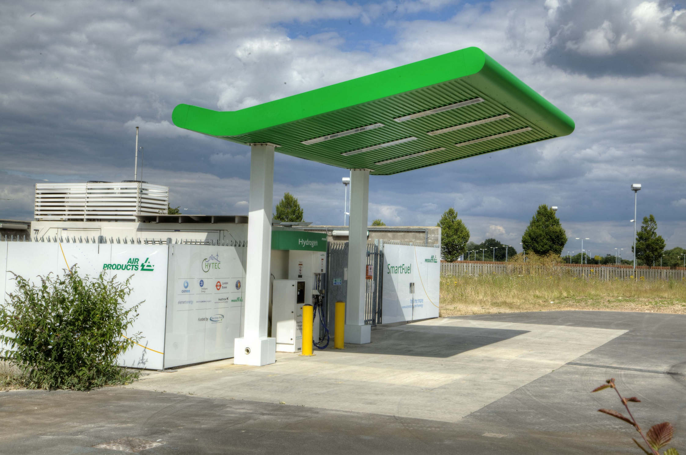 Global-MSI completes Hydrogen Filling Station canopy