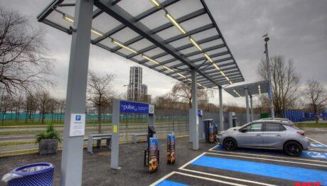 EV Charging canopy