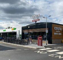 Astwick Costa Cofee Drive thru 2